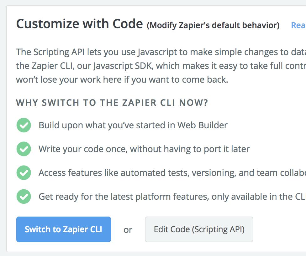 scripting API